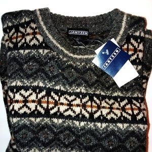 Jantzen Wool Winter Sweater XL NWT Vintage